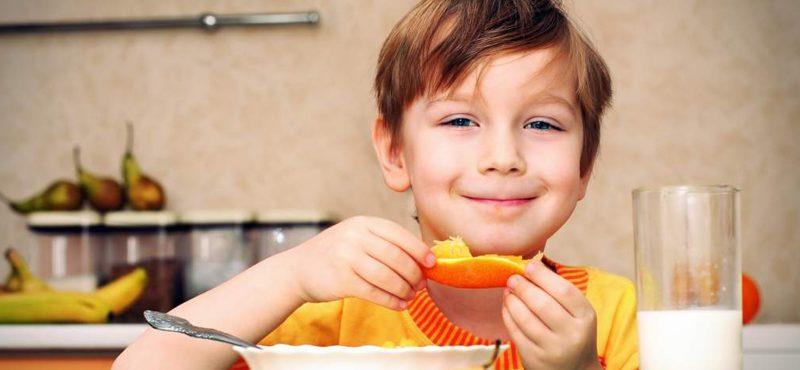 Alimentación saludable en edad escolar